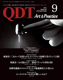 QDT Art & Practice 2013年9月号
