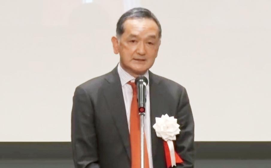 大会長を務めた朝比奈 泉氏。