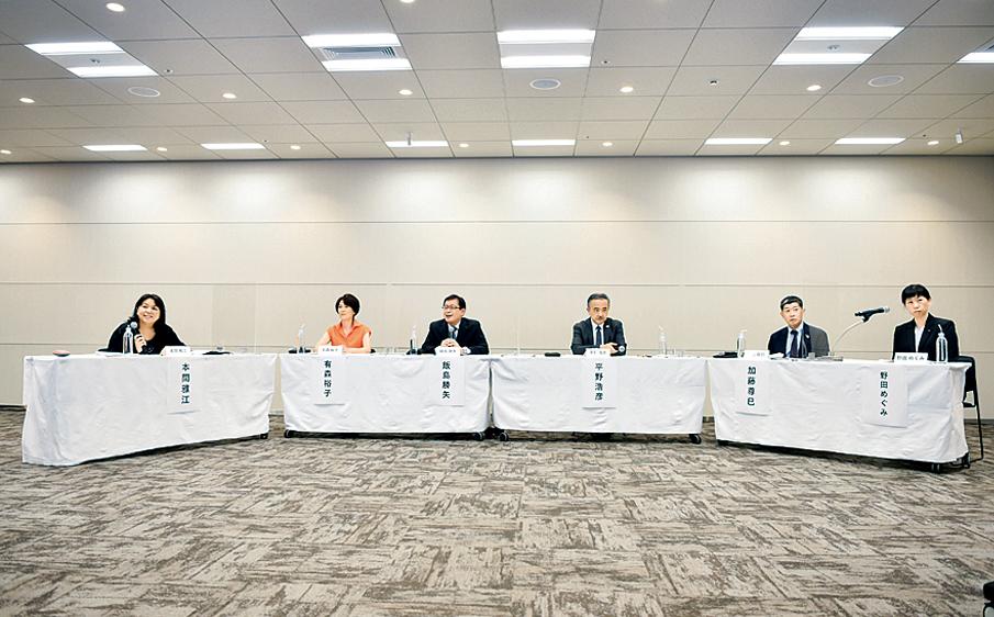 オーラルフレイルの予防について語られた(写真提供:日本歯科医師会)。