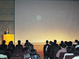 内藤正裕氏の特別講演会開催