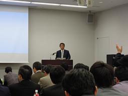 日本歯科商社・東西合併記念特別講演会開催