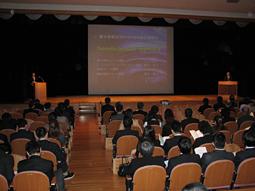 藤本研修会、2012年度OB会総会講演会を開催