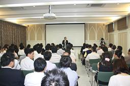 CEセミナー新館完成記念講演会開催