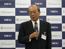 東京医科歯科大学、第1回記者懇談会を開催