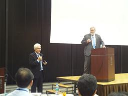 Jan Lindhe氏・Niklaus P. Lang氏 二大巨頭による特別講演会開催