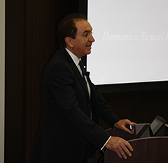 CEセミナーOB会、特別講演会「Dr. Domenico Ricucci初来日講演会」を開催