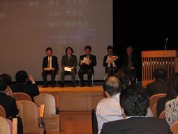 藤本研修会、2015年度OB会総会講演会を開催