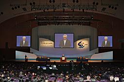 第21回日本歯科医学会総会盛大に開催