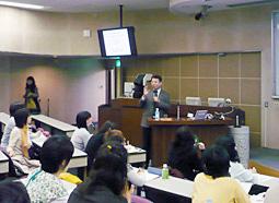 東京医科歯科大学歯学部口腔保健学科同窓会 お茶の水さつき会主催 公開講座開催