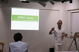 EPSDC研修会、第13期 Stage1「イエテボリ診断学ベーシックコース」第1回目を開催