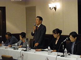 介護関連団体が「介護現場を守るための署名」の記者会見を開催