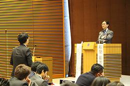 スタディグループ赤坂会、2017年度年末特別講演会を開催