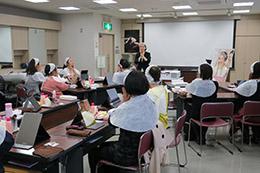 資生堂ジャパン、ADL向上のための整容講座を開催