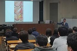 "Dr. Joe Iwanaga春季講演会「""臨床解剖""という仕事にかける夢」開催"