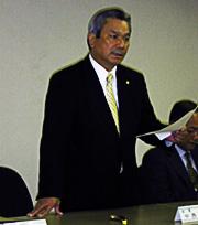 日技連盟会長、中西茂昭氏 前回得票数上回るも議席得られず