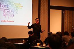 フィリップ・ヴァン・スティーンバーグ氏初来日講演「ClassII症例に対する統合的アプローチ」開催