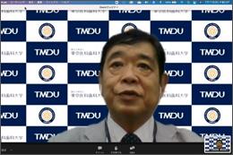 令和3年度東京医科歯科大学技友会主催学術講演会、Web配信にて開催