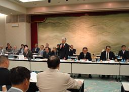 日歯連盟、都道府県代表者・理事長会議を開催