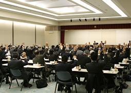 日歯連盟、第108回臨時評議員会を開催