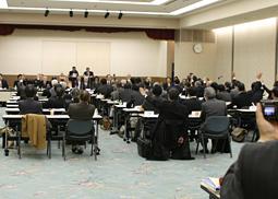 日歯連盟、第109回臨時評議員会を開催