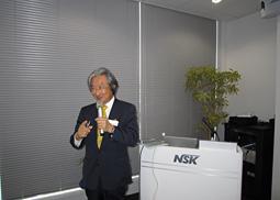 株式会社ナカニシ、「バリオサージ」発売記念講演会を開催