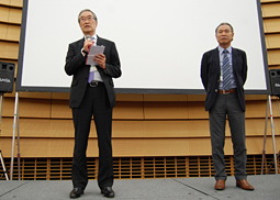 SJCD、チャリティ講演会を開催